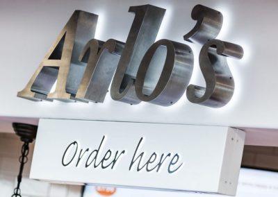 Arlo's Illuminated Signage