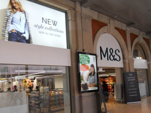 M&S SIMPLY FOOD NATIONWIDE SIGNAGE