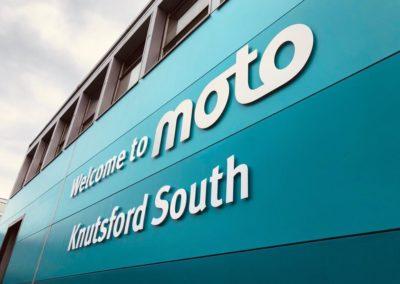 Moto Knutsford South Wall