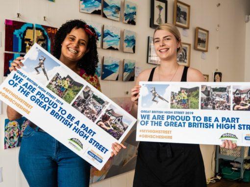 Northwich BID GBHS Campaign