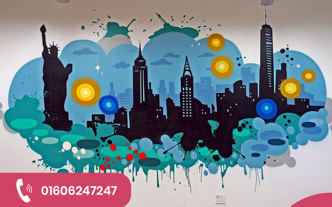 How Office Wall Graphics Boost the Tone of Your Work Place
