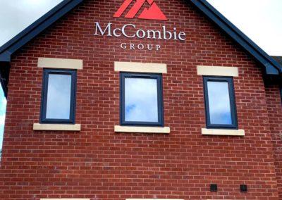 McCombie Group Signage