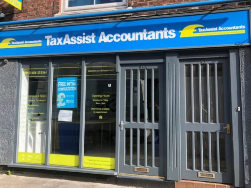 Tax Assist Accountants Signage Refresh