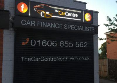 The Car Centre Illuminated Signage