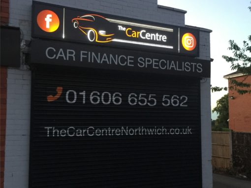The Car Centre Northwich Branding & Signage