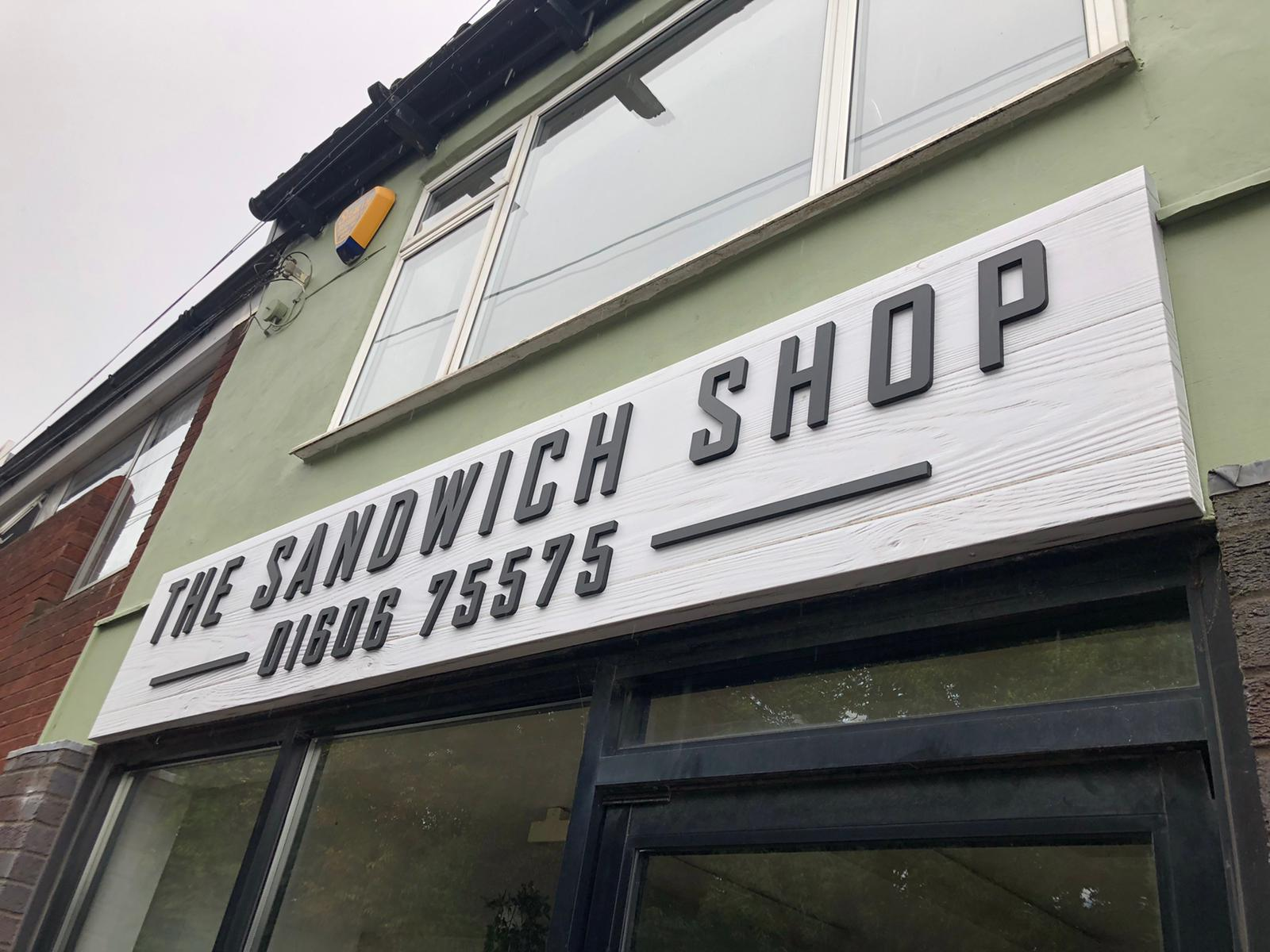 The Sandwich Shop Close Up