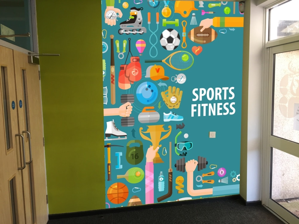 Sports-Fitness-Wall-Graphic
