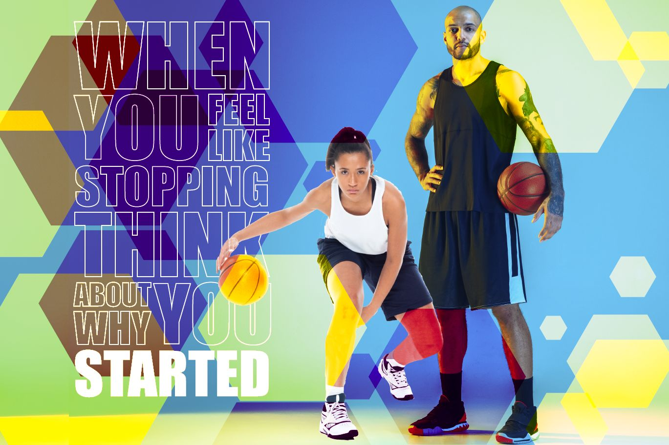 Sports, Gym, Inspirational wall graphic